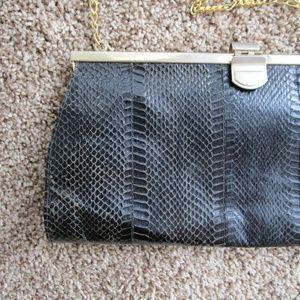 Authentic vintage snakeskin purse/clutch